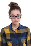 Hipster girl Royalty Free Stock Photography