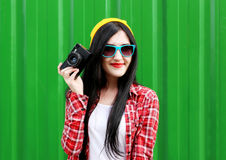 Hipster girl Royalty Free Stock Photo