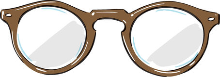 Hipster Glasses Fashion Style Illustration Royalty Free Stock Photos