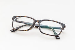 Hipster glasses isolated on white Royalty Free Stock Photos