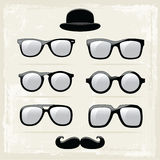 Hipster Glasses Royalty Free Stock Images