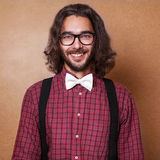 Hipster guy Stock Photos
