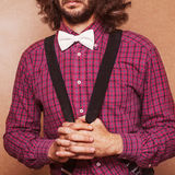 Hipster guy Royalty Free Stock Photography