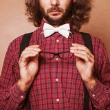 Hipster guy Royalty Free Stock Images