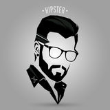 Hipster hair style 05 Royalty Free Stock Photography