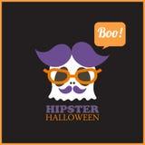 Hipster Halloween Royalty-vrije Stock Afbeelding