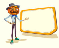 Hipster Halloween. Royalty Free Stock Photography