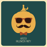 Hipster Halloween Royalty Free Stock Photography
