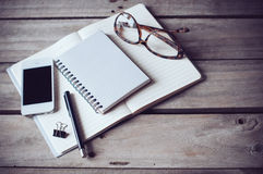 Hipster home office Royalty Free Stock Images