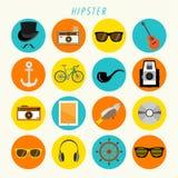 Hipster Icon Vector Design Stock Photo