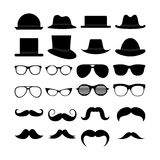 Hipster icons Stock Photo