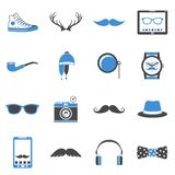 Hipster icons set Stock Photo