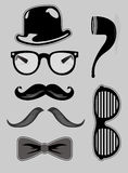 Hipster Icons Royalty Free Stock Photography
