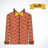 Hipster illustration Stock Photo