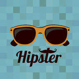 Hipster illustration Royalty Free Stock Photo
