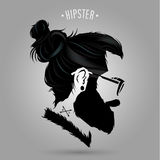 Hipster indie sign royalty free illustration