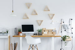 Free Hipster Interior With Ladder Light Royalty Free Stock Image - 96467326