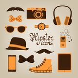 Hipster items collection Stock Photography