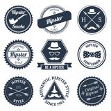 Hipster labels set Royalty Free Stock Photo