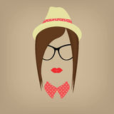Hipster   Lady Royalty Free Stock Photography