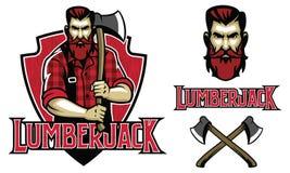 Hipster look lumberjack Stock Photos