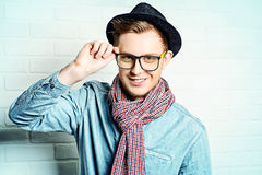 Hipster look Stock Photo