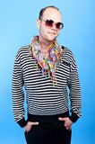 Hipster man Royalty Free Stock Images