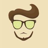 Hipster man Royalty Free Stock Photos