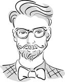 Hipster man Stock Photography