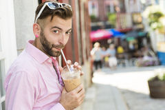 Hipster men Royalty Free Stock Photography