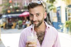 Hipster men Stock Photo