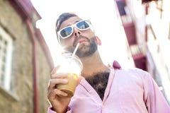 Hipster men Stock Image