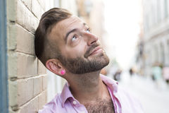 Hipster men Stock Photography