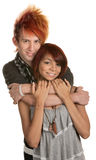 Hipster Mixed Couple Royalty Free Stock Images