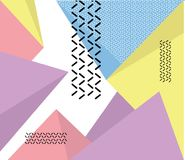 Hipster modern geometric abstract background. avangarde retro background with multicolored geometric shapes. EPS 10 Vector Illustration