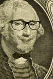 Hipster Nerd George Washington Stock Image