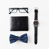 Hipster personal stuff Stock Photography