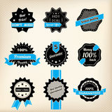 Hipster retro badge designs Royalty Free Stock Photography