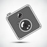 Hipster Retro Photo Camera Stock Image