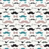 Hipster Retro Vintage Doodle Seamless Pattern Royalty Free Stock Photo