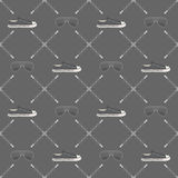 Hipster seamless pattern. Attributes hipster, seamless pattern. Vector format Stock Photos