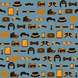 Hipster seamless pattern Royalty Free Stock Photos