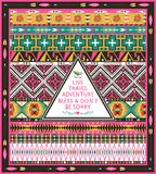 Hipster seamless tribal pattern with geometric elements Stock Images