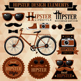 Hipster set Royalty Free Stock Photo