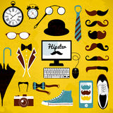 Hipster set. Royalty Free Stock Photos