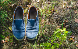 Hipster shoes Royalty Free Stock Photo