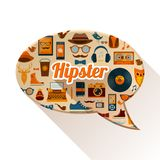 Hipster Social Concept Stock Photography