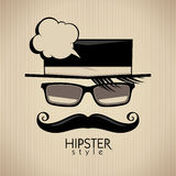 Hipster style background. Royalty Free Stock Photography