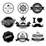 Hipster style Badge and Labels. Stock Images