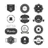 Hipster style badges set. Royalty Free Stock Photography